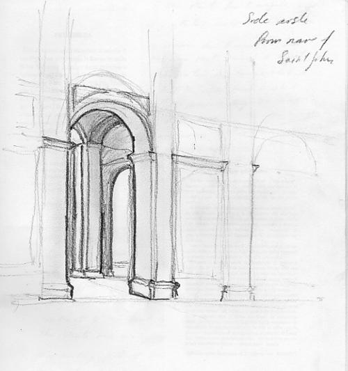 Side Aisle at Saint John the Divine